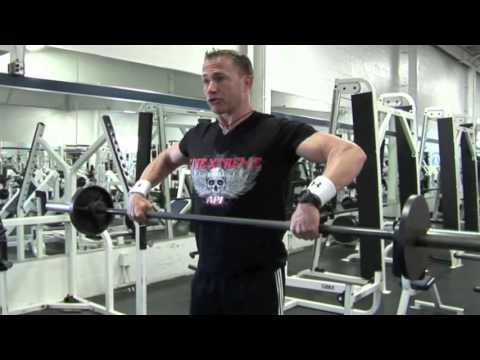 Malaysia Bodybuilding Training Tips Barbell Upright Row