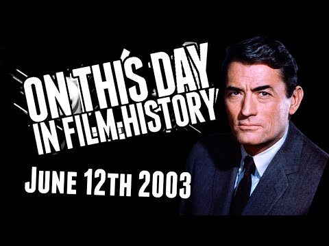 Gregory Peck! - On This Day In Film History - June 12th