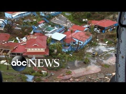New images show the destruction Hurricane Irma has caused in the Caribbean
