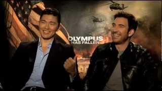 Nonton My Fun Interview with Rick Yune & Dylan McDermott for