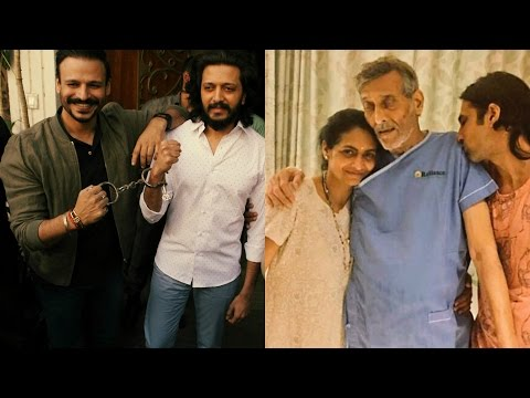 Riteish Deshmukh & Vivek Oberoi Prays For Speed Recovery Of Vinod Khanna