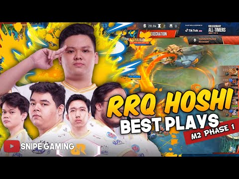 RRQ HOSHI BEST PLAYS FROM M2 GROUP STAGE PHASE 1
