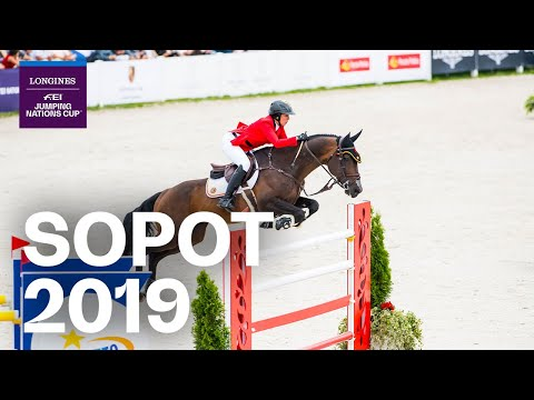 RE-LIVE | Longines Grand Prix - Sopot 2019 (POL) | Longines FEI Jumping Nations Cup™