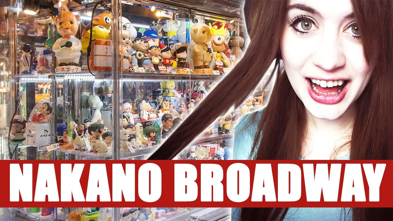 JAPAN ● VLOG 006: Nakano – DAS Merch Second Hand Paradies!