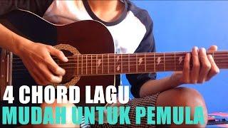 4 chord lagu gitar mudah untuk pemula