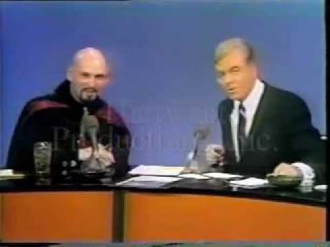 ANTON LAVEY - interview ( Satanism father )