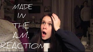 MADE IN THE A.M. ALBUM REACTION