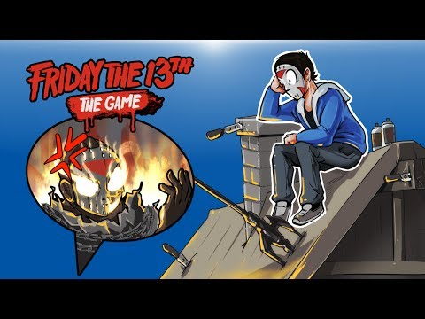 Friday The 13th - JASON'S BEST FRIEND! (ROOF GLITCH!)