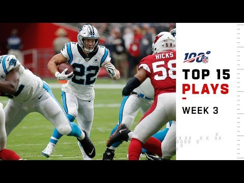 Top 15 Plays from Week 3 | NFL 2019 Highlights
