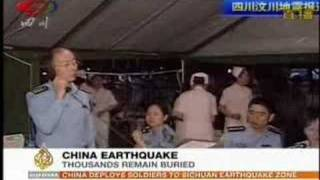 Al-Jazeera News May 12, 2008 - China Earthquake