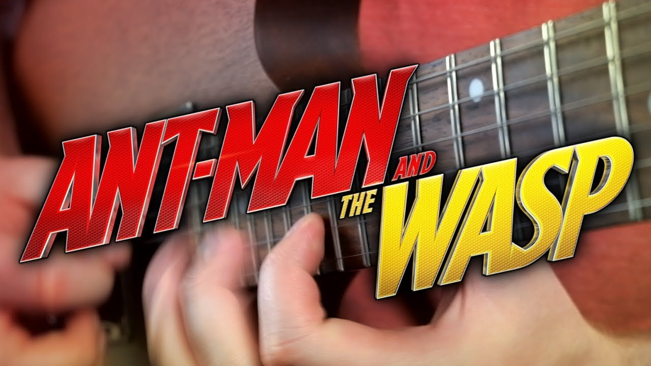 Ant-Man and The Wasp Theme on Guitar