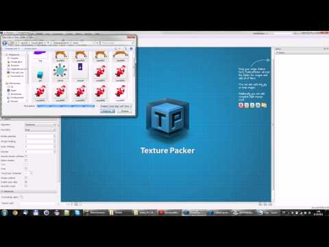 Небольшой туториал по TexturePacker