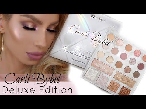 CARLI BYBEL Deluxe Palette Review - DAYTIME SPRING GLAM