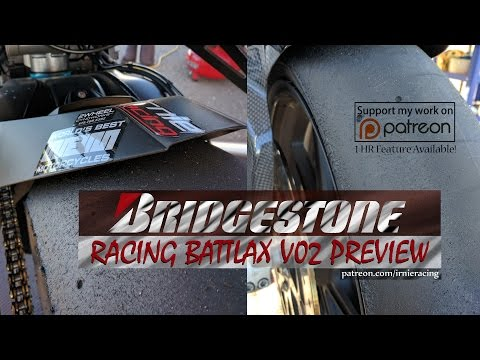 BRIDGESTONE Racing Battlax V02 PREVIEW