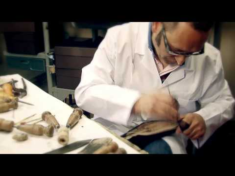 vuitton - The making of a men's Louis Vuitton shoe in Fiesso d'Artico's workshops.