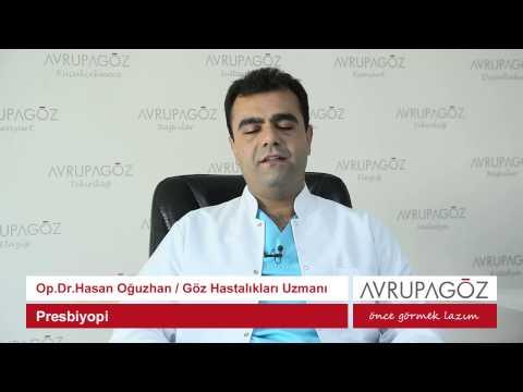 Op. Dr. Hasan Oğuzhan Presbiyopi'yi Anlatıyor
