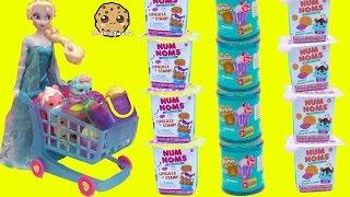Video Disney Frozen Doll Queen Elsa Shops for Num Noms Series 2 & Shopkins Blind Bags MP3, 3GP, MP4, WEBM, AVI, FLV Juni 2019