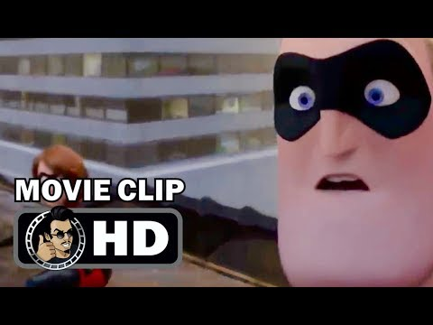 INCREDIBLES 2 Movie Clip - Opening Scene (2018) Disney Pixar Animated Superhero Movie HD