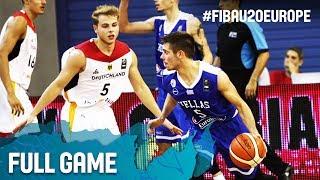 Watch Germany v Greece at the FIBA U20 European Championship 2017. ▻▻ Subscribe: http://fiba.com/subYT Click here for more: ...