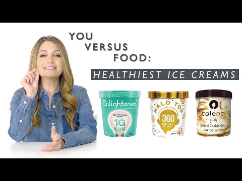 A Dietitian Reviews Healthy Ice Cream (Halo Top, Arctic Zero, And More) | You Versus Food