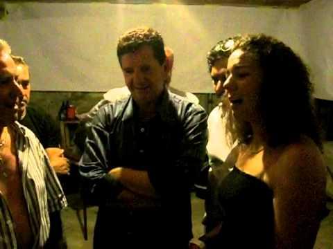 Desgarrada Nelinho da Capela; Claudia Martins e Simao Alves. 2