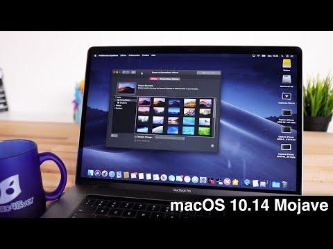 """macOS """"MOJAVE"""" (10.14) : TOUTES LES NOUVEAUTÉS ! (en 5 minutes)"""