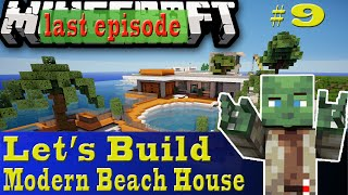 Minecraft Let's Build: Modern Beach House #9