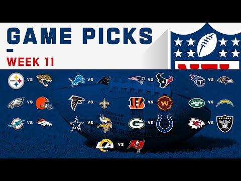 Week 11 Game Picks! | NFL 2020