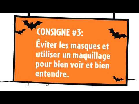 Web �pisode 3 de L�on - Les consignes de s�curit� pour l'Halloween