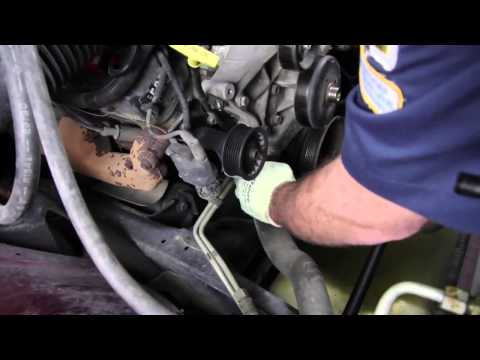 How to Install a Water Pump: 1994 – 2001 Dodge Ram 1500 5.2L V8 WP-9126 AW7160
