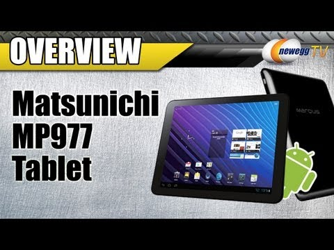 Newegg TV: Matsunichi MP977 Marquis Tablet Overview