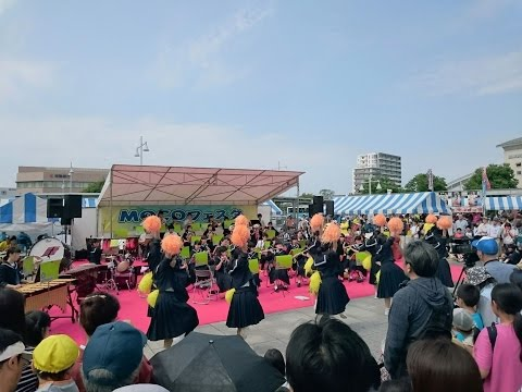2016/05/14 mocoフェスタ2016 御所ヶ丘中学校吹奏楽部