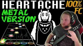 Video Heartache Metal Version 100% FC (Guitar Hero Custom / Music by RichaadEB) - Undertale MP3, 3GP, MP4, WEBM, AVI, FLV Desember 2017