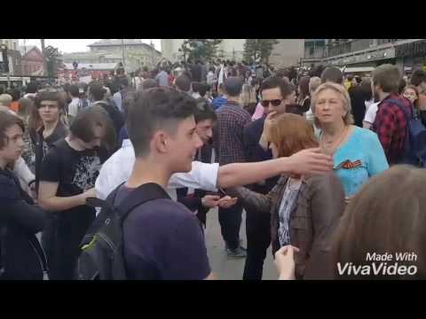 Молодежь заткнула провокаторов из НОД на митинге 12 июня