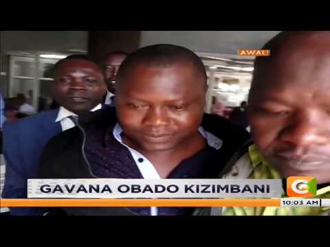 Governor Obado's bodyguard, Moses Mogaya Mwita arrested in Nairobi #Semanacitizen
