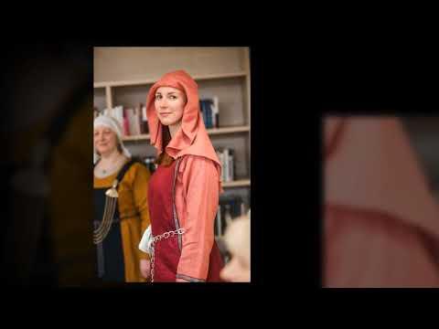 Valmieras muzeja Hanzas vēsturisko tērpu parāde  2018