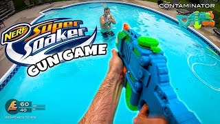 Video NERF GUN GAME | SUPER SOAKER EDITION (Nerf First Person Shooter) MP3, 3GP, MP4, WEBM, AVI, FLV Februari 2019