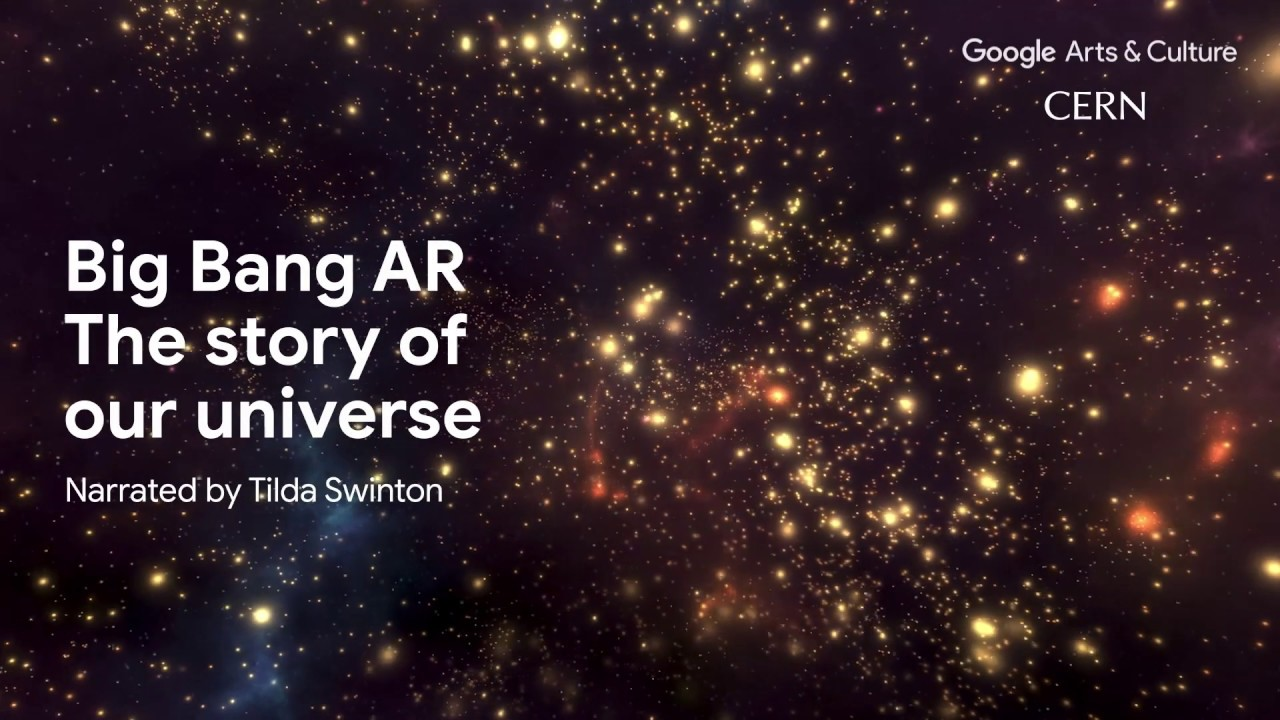 A demonstration of the Big Bang augmented reality app, narrated by Tilda Swinton.