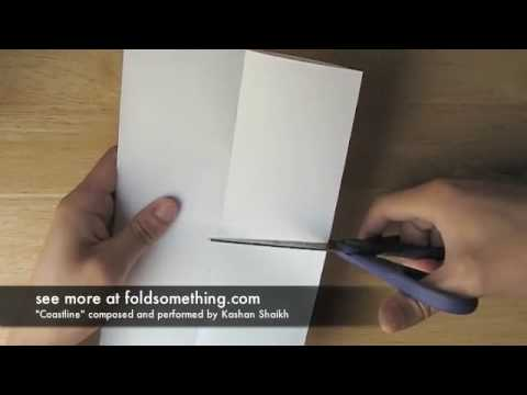 How to make a paper book without staples