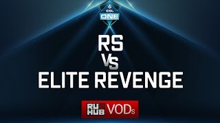 Rainbows and Sunshine vs Elite Revenge, ESL One Genting Quals, game 1 [Mila, Jam]