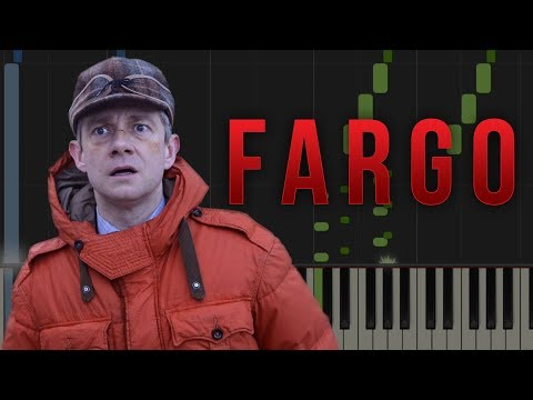 FARGO (TV SERIES) Theme Tune - Easy Piano Tutorial (Synthesia)