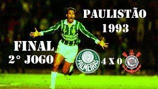 Palmeiras Campeão do Campeonato Paulista 1993, O FIM DO JEJUM !!! Palmeiras 4 x 0 CorinthiansDia: 12/06/1993 Escalações...