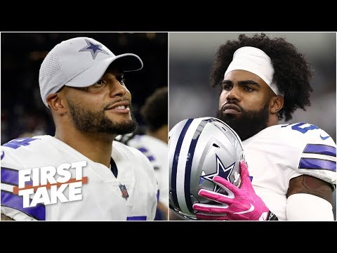 Video: Dak or Zeke: Who should Cowboys give the big payday? | First Take