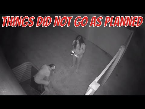 SNEAKING OUT OF THE HOUSE CAUGHT ON CAMERA | THE LEROYS