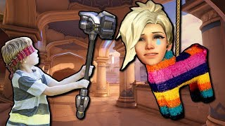 Video Overwatch Funny & Epic Moments - MERCY PINATA - Highlights Montage 162 MP3, 3GP, MP4, WEBM, AVI, FLV Juni 2017