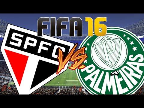 FIFA 16 – São Paulo x Palmeiras Primeiro Gameplay