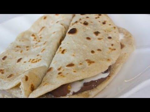 Como preparar baleadas Hondureñas ❤️