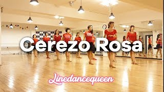 Cerezo Rosa Line Dance (mprover) Sally Hung Demo & Count