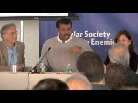 "Neil DeGrasse Tyson answer to ""What's up with chicks in science"""