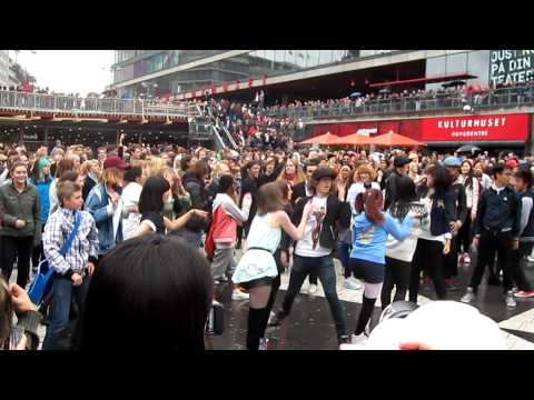PSY – Gangnam Style Flashmob Stockholm, Sweden 22/09-2012 Version 2